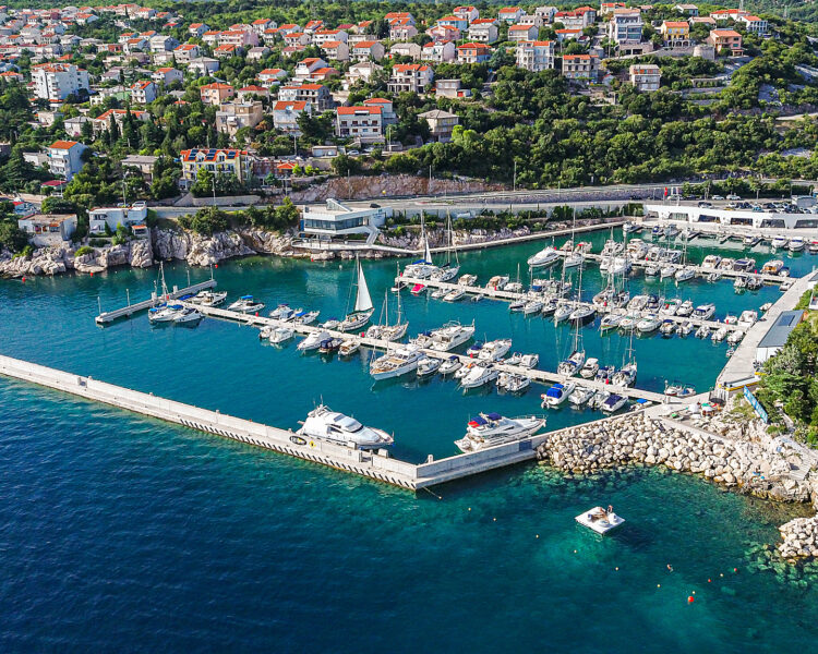 Mitan marina Summer 2019 Drone